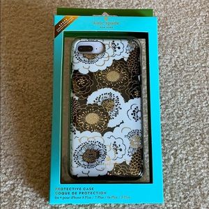 Kate Spade protective case for iPhone 8+ or 8